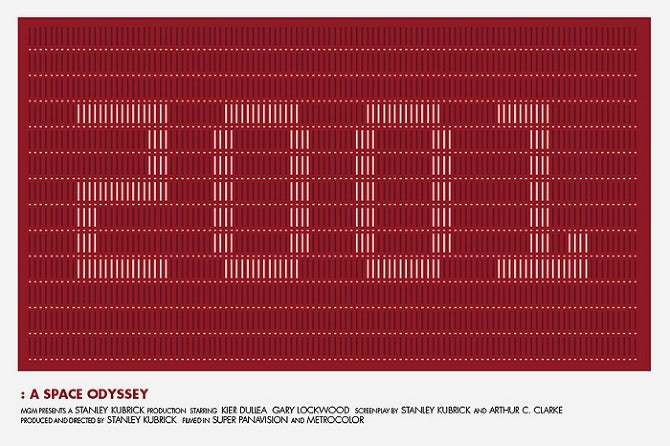 Clever Movie Posters Advertise Classic Films with Style