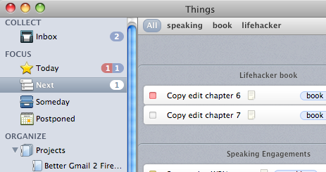 Previewing Things, Alpha Task Manager for Mac