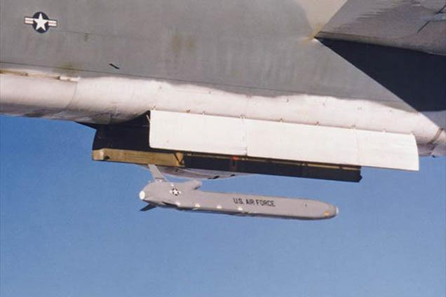 This Stealth Missile Will Use EMPs To Cripple Enemy Electronics