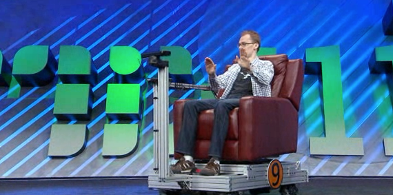 We're One Step Closer to a Wall-E Society with This Kinect Powered Chair