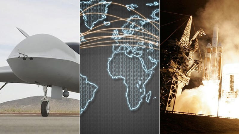 The Future of the US Military: Drones, Computer Viruses, and Outer Space