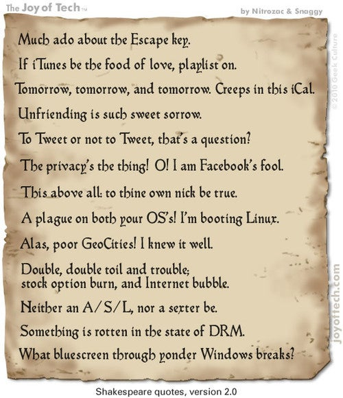 Shakespeare Quotes Get Version 2.0
