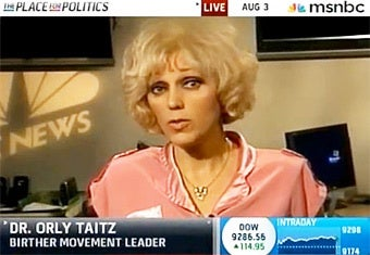 Birther Orly Taitz Loses, But Not as Badly as Mickey Kaus
