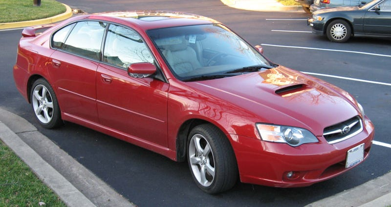 Discuss: Subaru Legacy GT