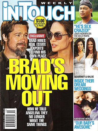 """This Week In Tabloids: Aniston's """"Pregnant""""; Justin's """"Sweating"""" Rihanna"""