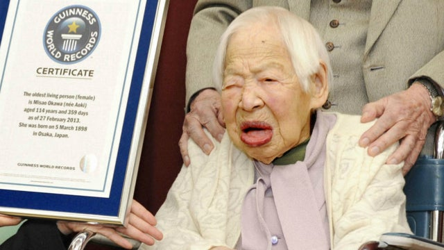 114-year-old woman named world's oldest, Reuters jinxes everything