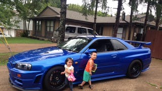 This is What Your Life is Like When You Own a Legal R34 GTR
