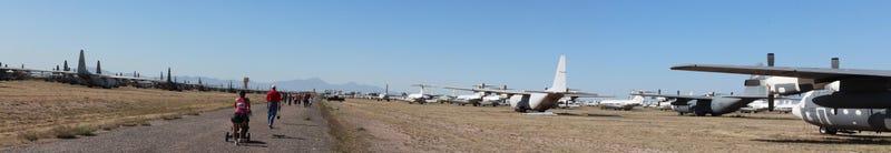 Desert Boneyard 5k Panoramic shots