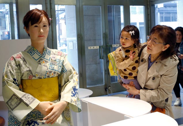 Meet the Humanoid Robot Greeting Retail Customers in Japan Today