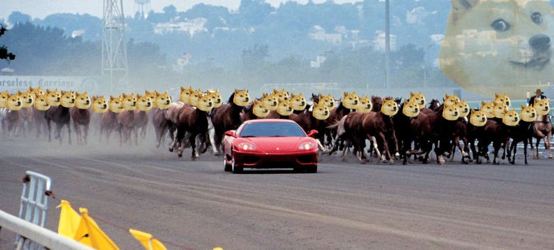 You Can Now Buy A Ferrari With Dogecoin