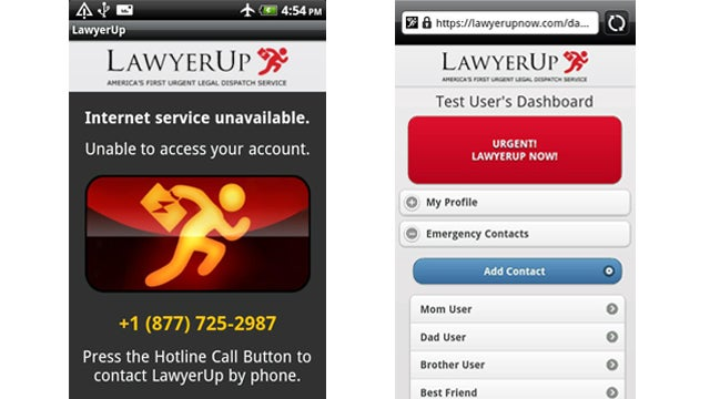 Committing Crimes at 2 AM? Sign Up for LawyerUp in Case You're Caught