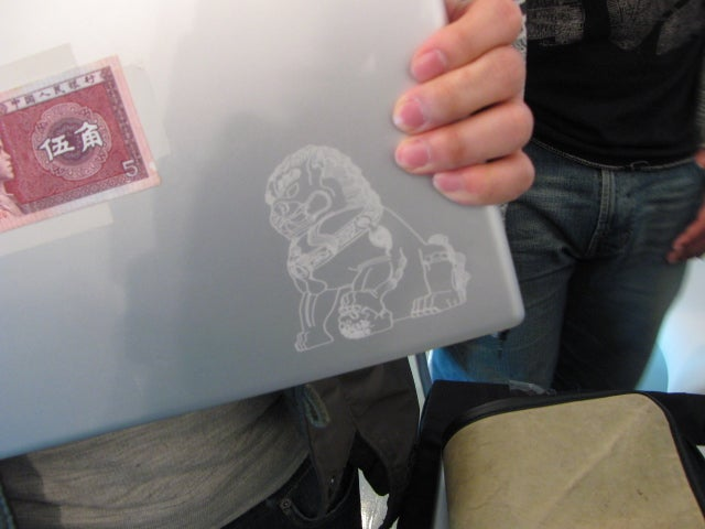Free Laser Etching, Tonight Only at the Gizmodo Gallery