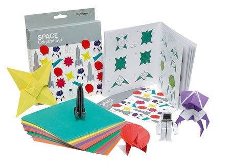 Space Origami Kit (Pew, Pew, Blast Off, Etc)