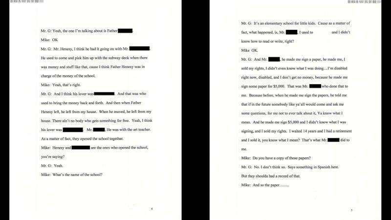 The Catholic Church's Secret Gay Cabal - The Documents