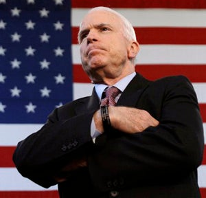 Hey Ladies: John McCain Values Your Potential Offspring More Than Your Actual Votes