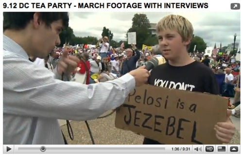 Nancy Pelosi = Honorary Jezebel