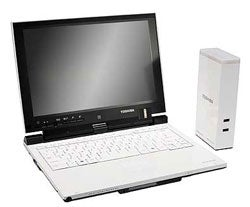 Toshiba's UWB Wireless Laptop Dock