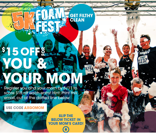 This Mother's Day, Get Wet And Wild With Your Mom