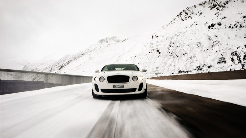 Would You Drive A Bentley Continental GT Supersports Across The Himalayas?