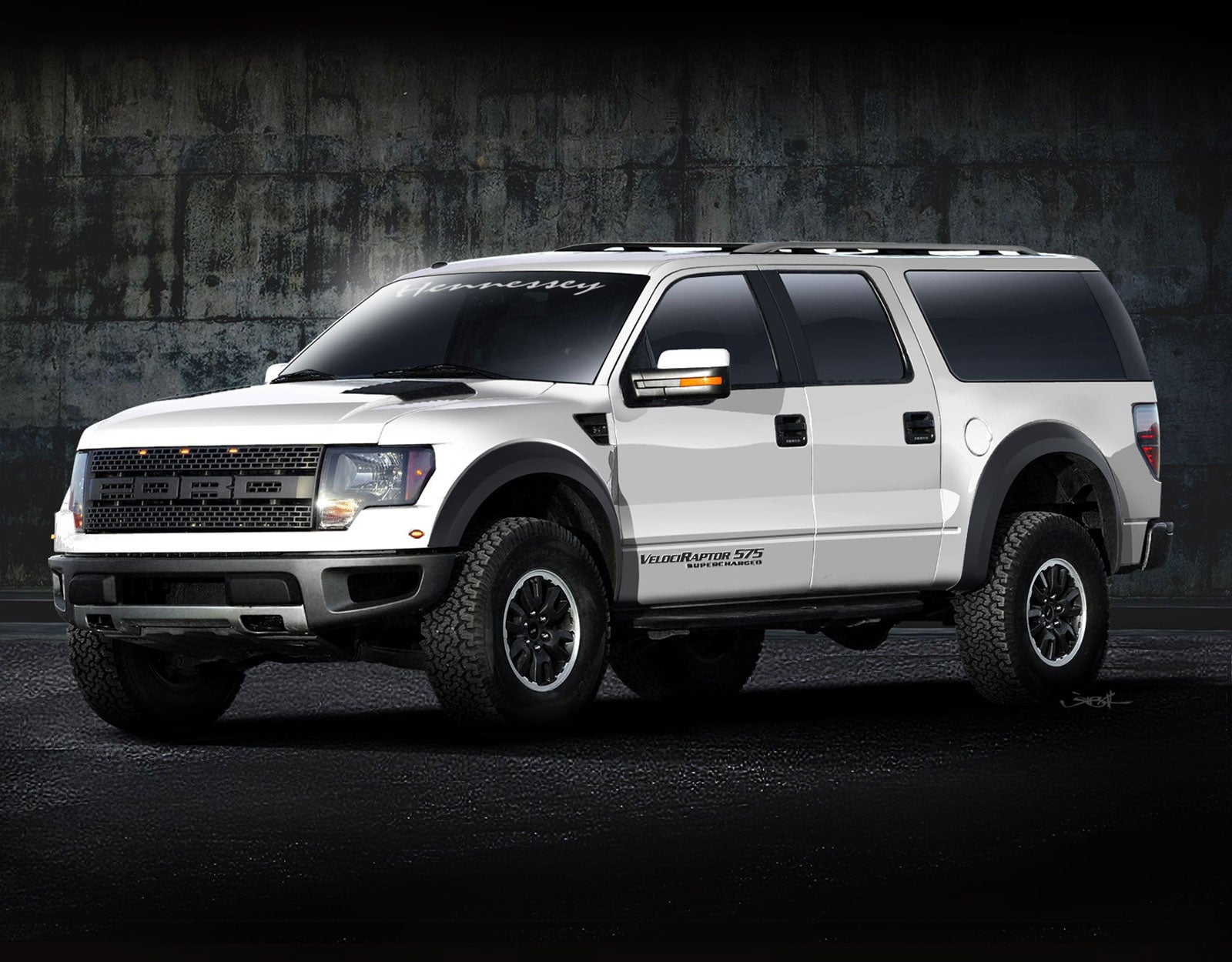 Hennessey's Armored, Supercharged Ford Raptor SUV