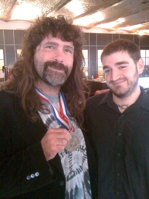 Breaking: Mick Foley Is In Our Office Right Now