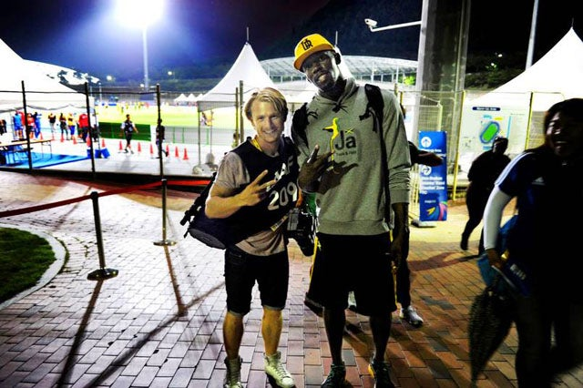 Usain Bolt Has A History Of Stealing This Swedish Photographer's Camera