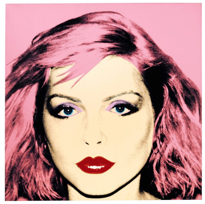 Debbie Harry's and Andy Warhol's Collaborations