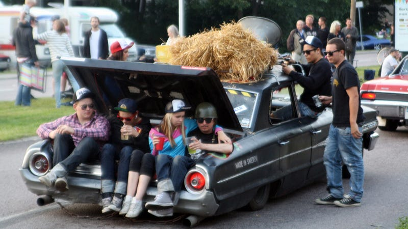 Your Guide To Europe's Weirdest Car Culture: Raggare