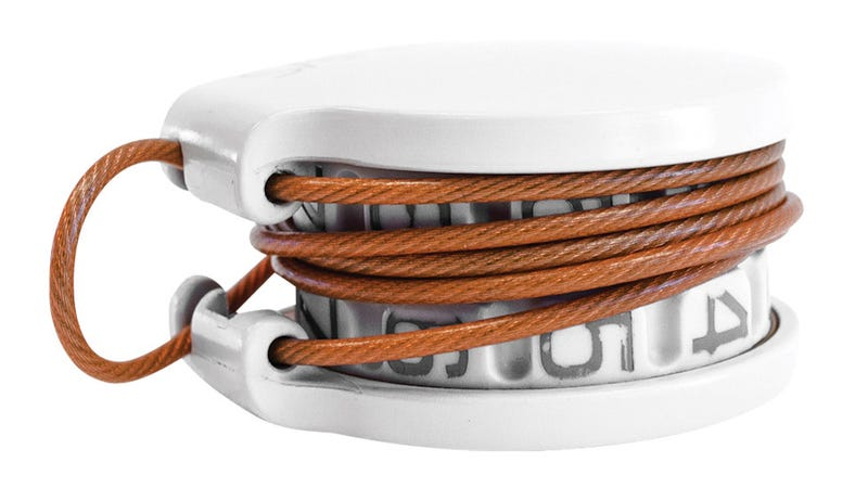An Ultra-Compact Cable Lock To Protect Everything Else You Own