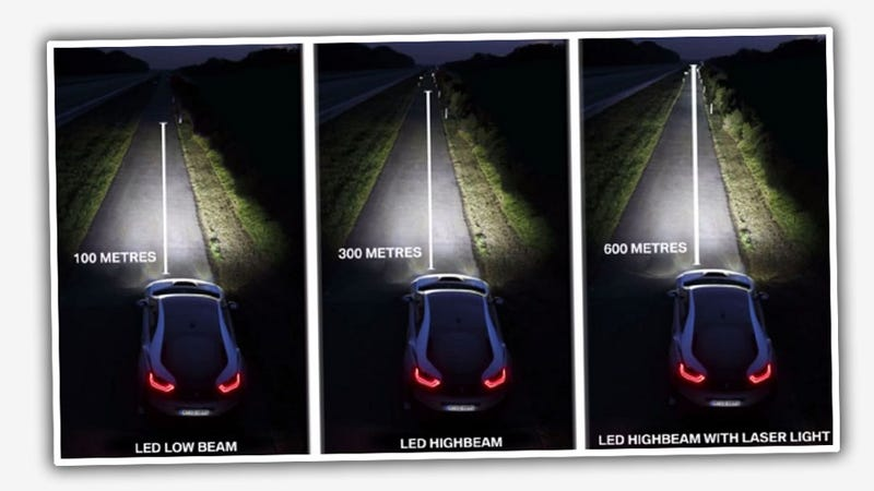 How BMW's New Laser Headlights Will Work And Not Kill You
