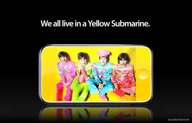 Yellow Submarine iPod Forthcoming, Loaded with Entire Beatles Catalog?