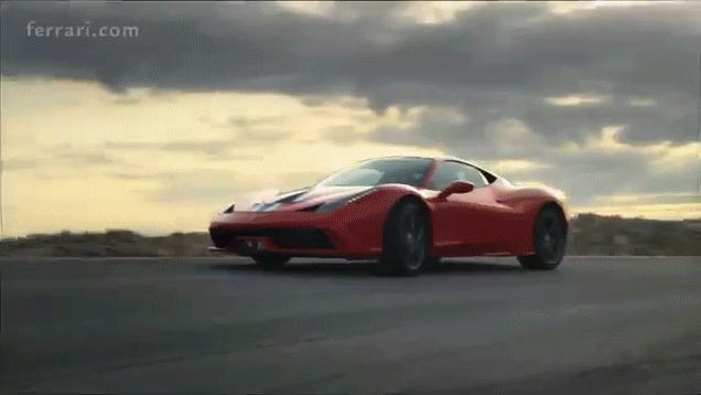 The Ferrari 458 Speciale Launch Video Looks Like A Video Game