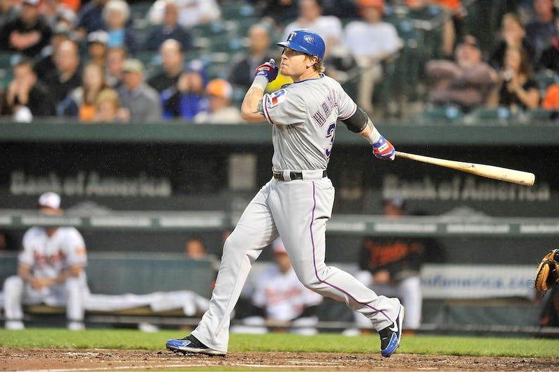 Josh Hamilton Is Hitting Baseballs Like Crazy