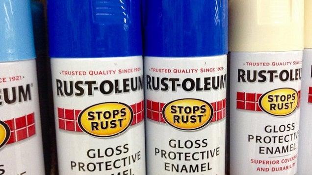 Unclog Spray Paint Nozzle