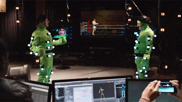 Shield Your Eyes: Stallone and De Niro Brawl in Video Game Mo-Cap Suits