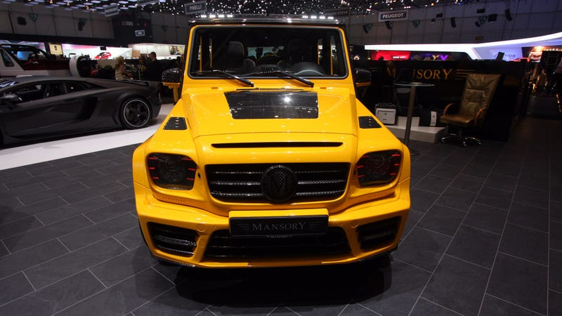 These Are The Worst G-Wagens At The Geneva Motor Show