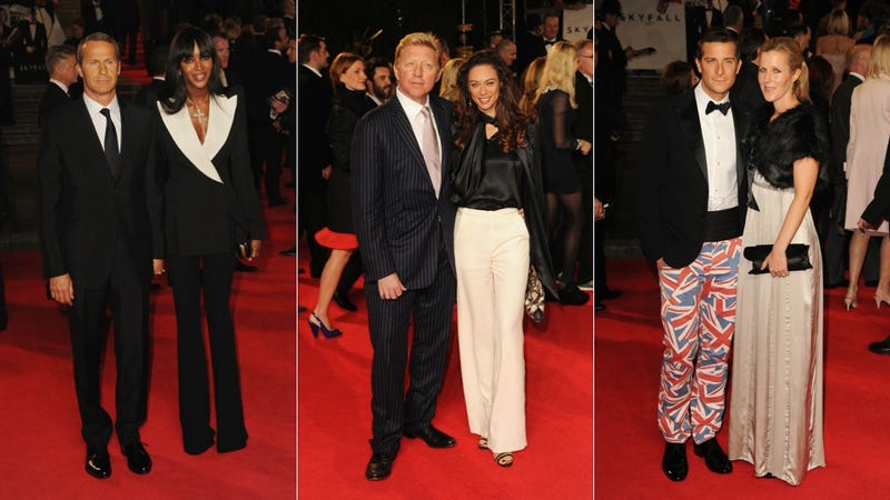 James Bond Was Cool, But There Were Hot Messes at the Skyfall Premiere