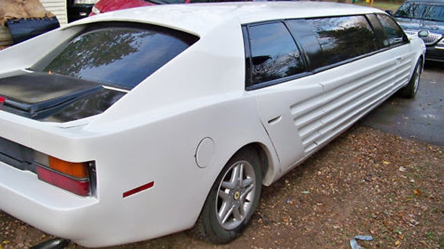 Taurus SHO-powered Faux-rarri limo is as weird as it sounds