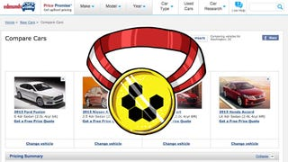 Most Popular Car Comparison Site: Edmunds