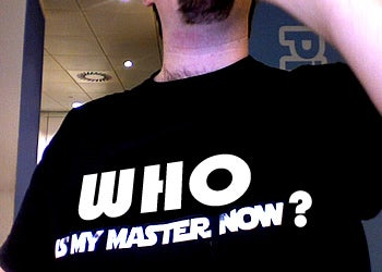 Who Is Your Master Now?