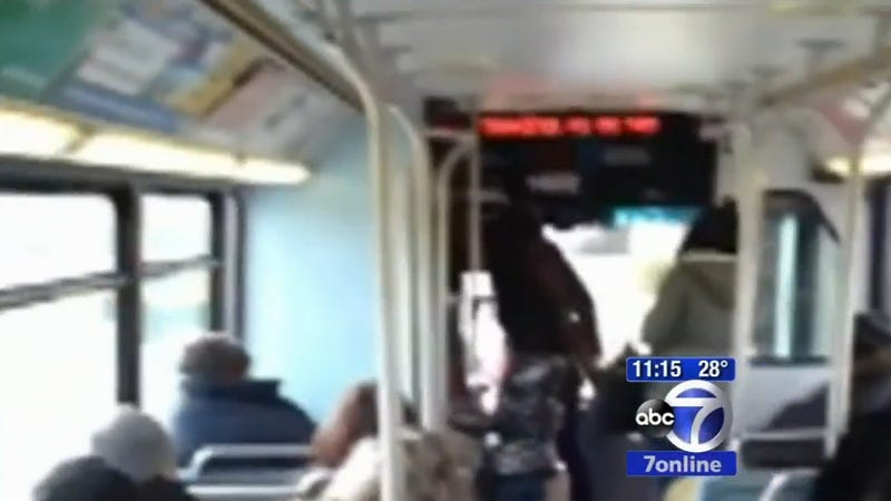 Passengers Record Bus Driver Attack On Phones Instead Of Calling 911