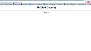 The Site That Tells You if Sites Are Down Is Down