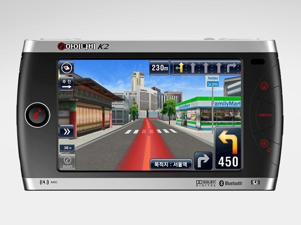 Thinkware iNAVI K2 GPS Makes Navigation Look Like a Game