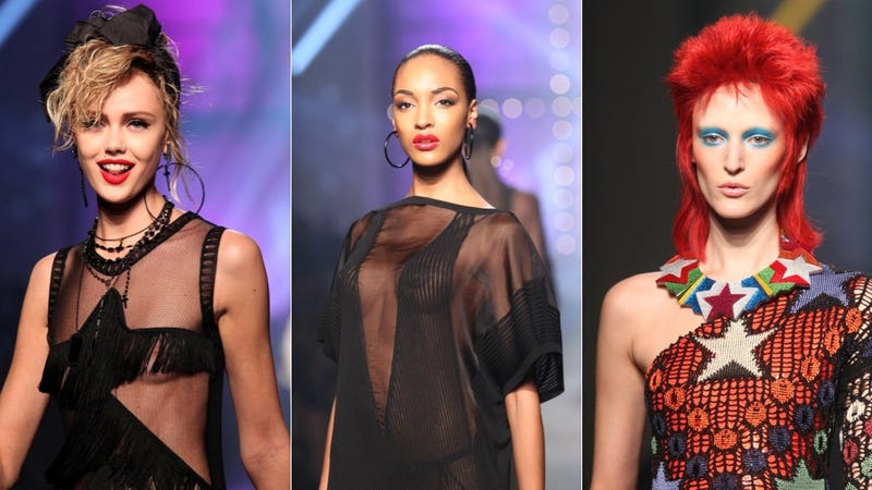 Gaultier, for the Nostalgic, '80s-Obsessed Pop Music Addict in You