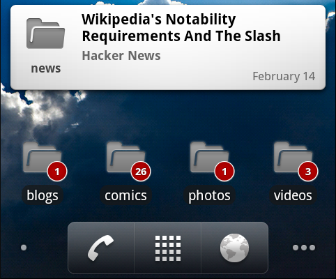 Google Reader for Android Gets Unread Count and Feed Widgets, Adds One Brilliant Feature