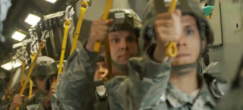 "Watch These ""All-Americans"" Jump Out Of A Perfectly Good C-17"