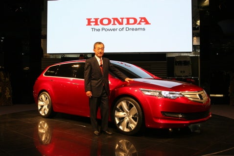Frankfurt Auto Show: Honda Accord Tourer Concept