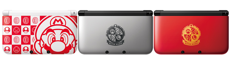 Three Very Fancy New 3DS XL Designs
