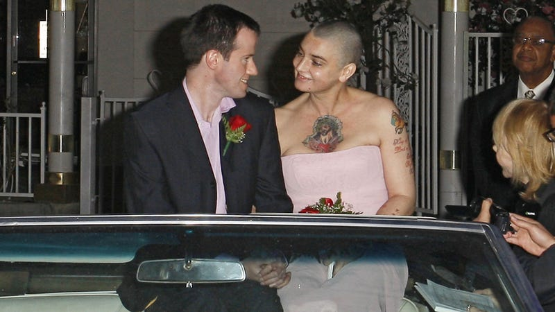 Sinead O'Connor Got Married in Vegas in a Pink Cadillac