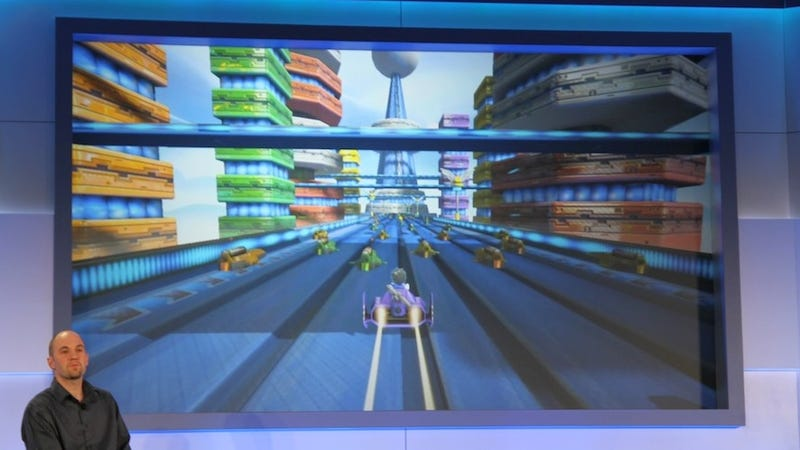 There's Some F-Zero Hiding in the Wii U's Nintendo Land